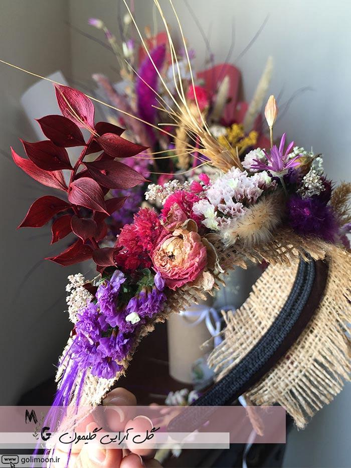 تاج گل عروس پیشنهادات