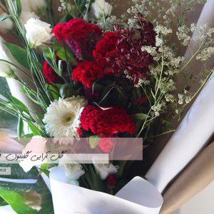 دسته گل هدیه لیسیانتوس2