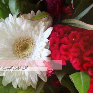 دسته گل هدیه لیسیانتوس3
