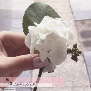 دسته گل عروس هورتانسیا4