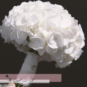 دسته گل عروس هورتانسیا