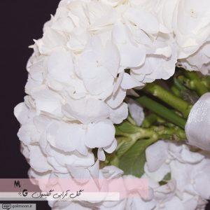 دسته گل عروس هورتانسیا2